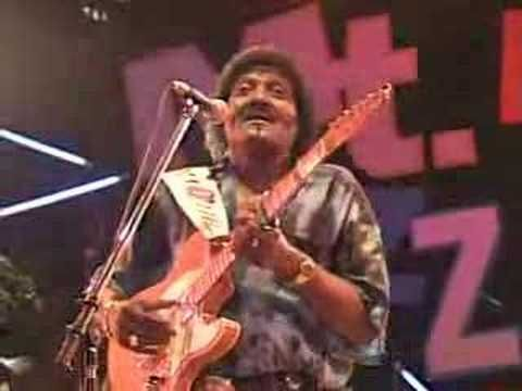 Albert Collins, The Master of the Telecaster, ripping out a great version playing live at Mt. Fuji.