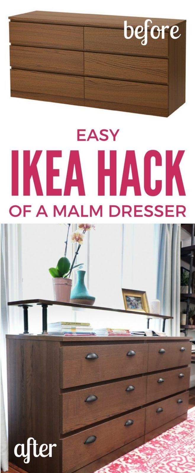 Der einfachste Ikea Malm Hack aller Zeiten