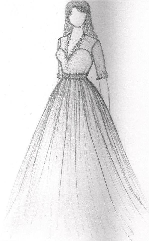 Pin By Rubi Na On Fashion Sketches Dress Design Drawing Fashion Drawing Sketches Fashion Sketches Dresses