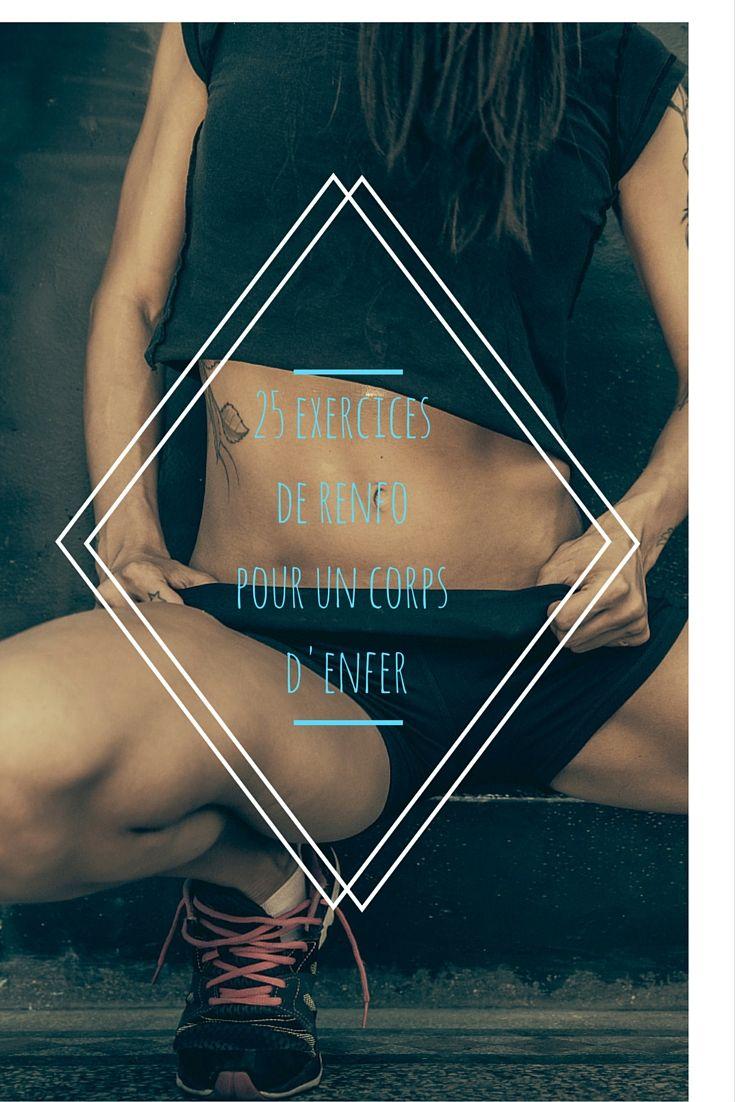 25 exercices de renforcement musculaire pour raffermir son corps en profondeur