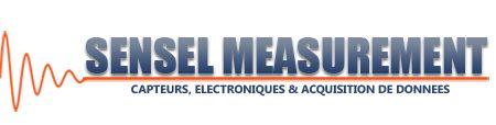 Sensel Measurement.   Fabrication et distribution de Capteurs et Appareils de Mesures, ainsi que les électroniques associés.
