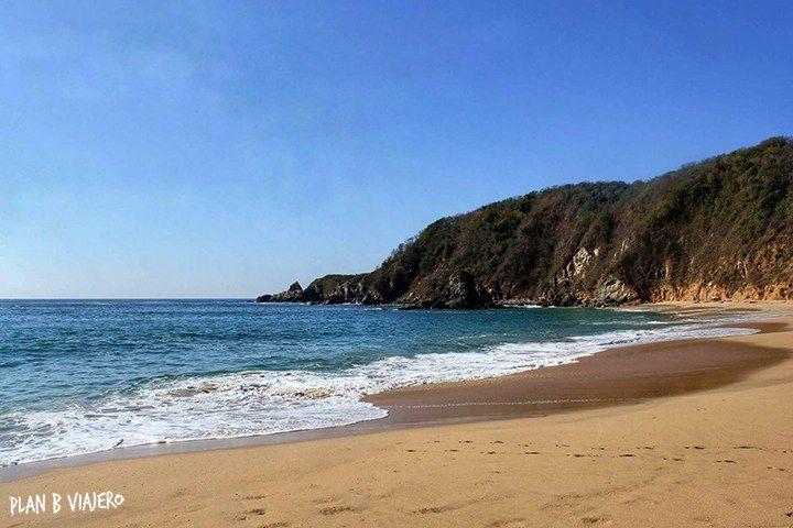 plan b viajero, las mejores playas de Oaxaca, mazunte bahia