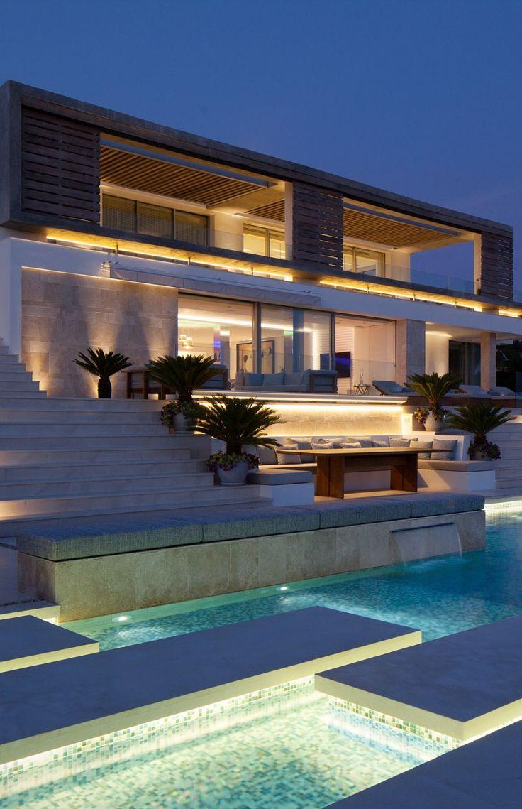 "MODERN ARCHITECTURE| Architecture Beast: Modern Villa ""Roca Llisa"" Located In…"