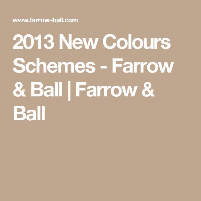 2013 New Colours Schemes - Farrow & Ball | Farrow & Ball