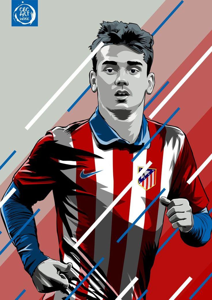 Antoine Griezmann. Atletico de Madrid