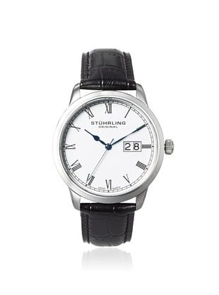 79% OFF Stuhrling Men's 831L.01 Cuvette Panache Black/Silver Stainless Steel Watch