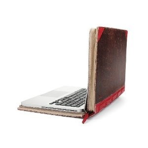 Twelve South BookBook, 15-inch Hardback Leather Case for 15-inch MacBook Pro, Red  $79.99 *