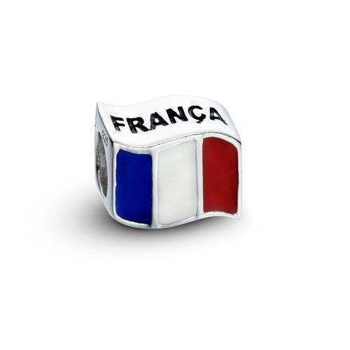 Pingente Bandeira da França Life