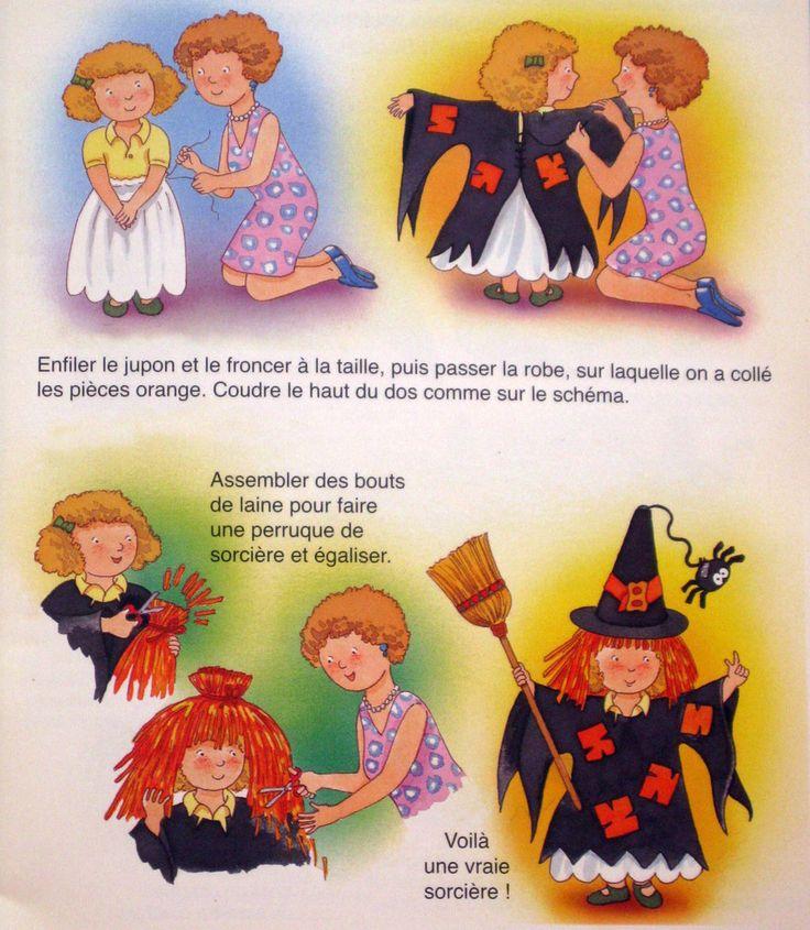 costume de sorcière http://tricotdamandine.over-blog.com/2015/10/un-deguisement-de-sorciere.html