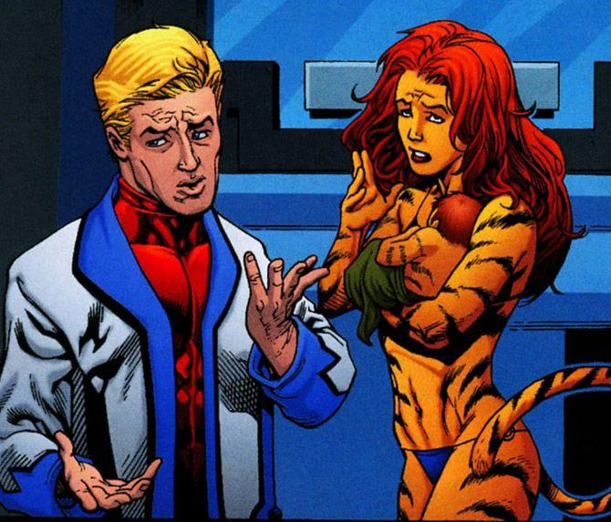 Marvel Tigra Son Tigra, her son ...