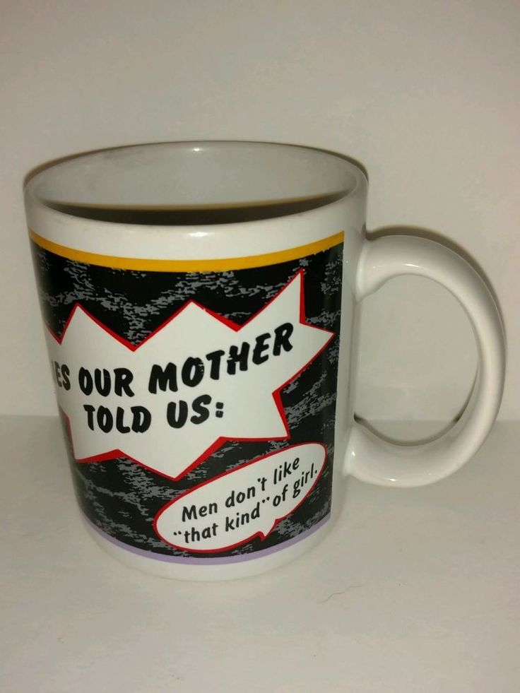 fun  Quirky Collectible Coffee mug Lies our Mother Told Us