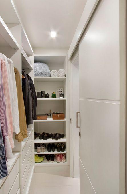 25 melhores ideias de closet pequeno no pinterest for Modelos de walk in closet