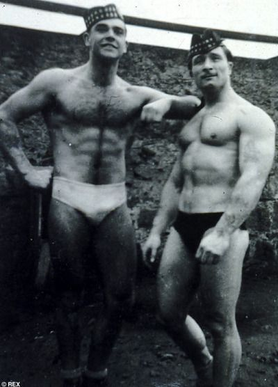 Sean Connery was a competitive bodybuilder from the age of 18-21.  He was 3rd in the 1950 Mr. Universe contest.