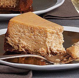sweet potato cheesecake with gingersnap crust