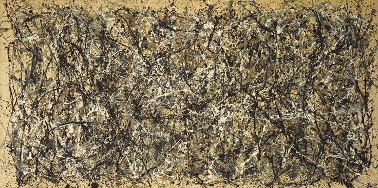 One, number 31 (jackson pollock , 1950)