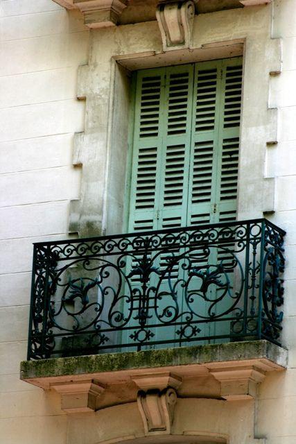 French balcony by KarinOzinny, via Flickr