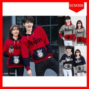 Fashion Hoodie Couple The Beatles Terbaru