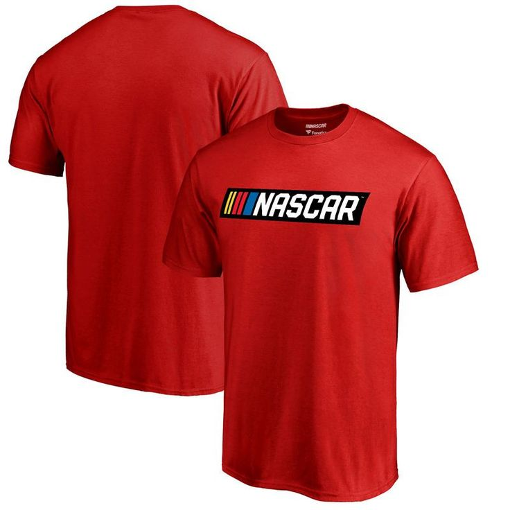 Fanatics Branded NASCAR T-Shirt - Red https://www.fanprint.com/stores/fight-club?ref=5750