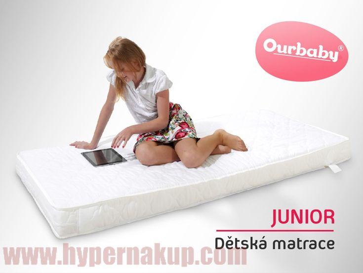 Detský obojstranný matrac JUNIOR 90x200