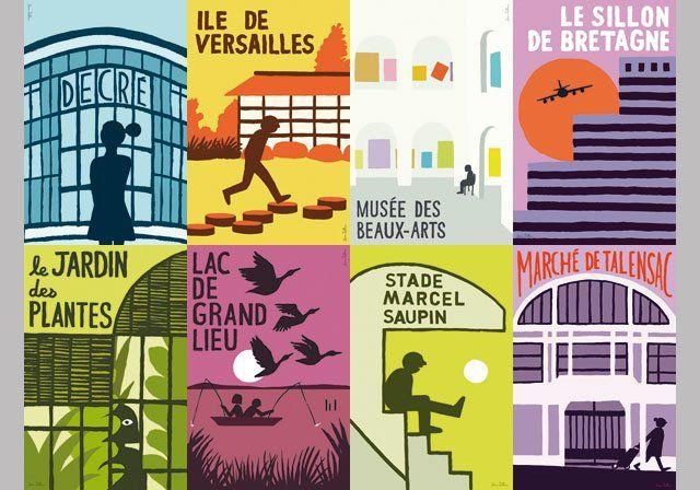 Les affiches de Jean Jullien   Nantes Tourisme
