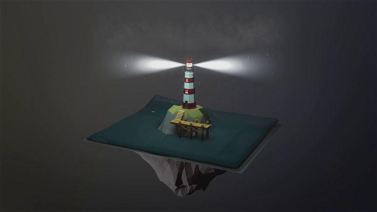 Water/Rain Simulation (X-Particles)
