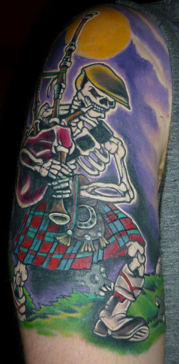 celtic punk tattoo - 736×1494
