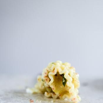Image for Spring Pasta with Blistered Tomatoes and Eggs