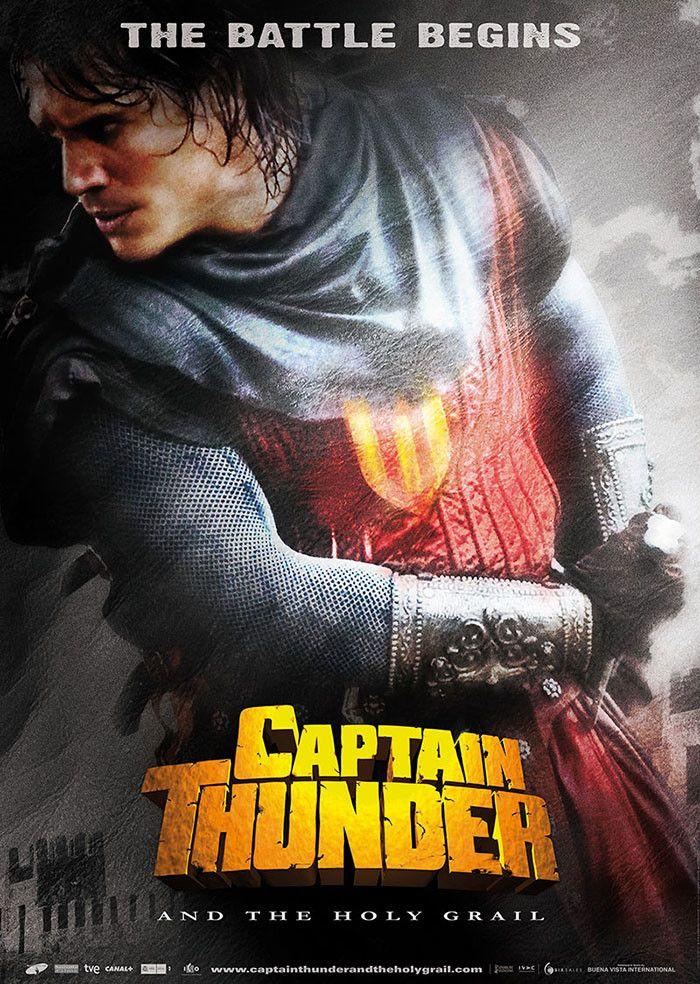 Cartelería Ilustración El Capitán Trueno Teaser Películas Completas Truenos Peliculas