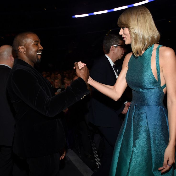 Breaking: Kanye West and Taylor Swift Are Officially Best Friends  - ELLE.com