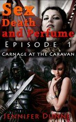 Kindle FREE Days:  April 21  and April 24      ~~ Carnage at the Caravan ~~ Sword & sorcery story, published in short, single-sitting episodes for today's busy readers.