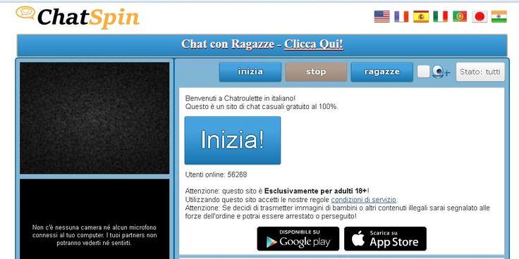 Chatroulette è dove si possono incontrare nuove persone e chattare a camma istantaneamente. Webcam chat con sconosciuti in tutto il mondo gratis! #toreadmore http://chatroulette.it/