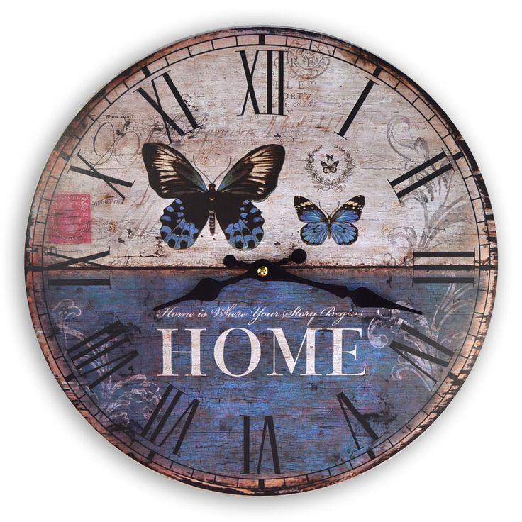 Free vintage clock face