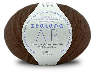 Zealana AIR Chunky L08 Coffee