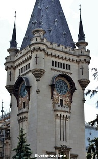 Palace of Culture in Iasi, Romania