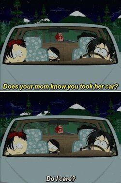 South Park Goth Kids