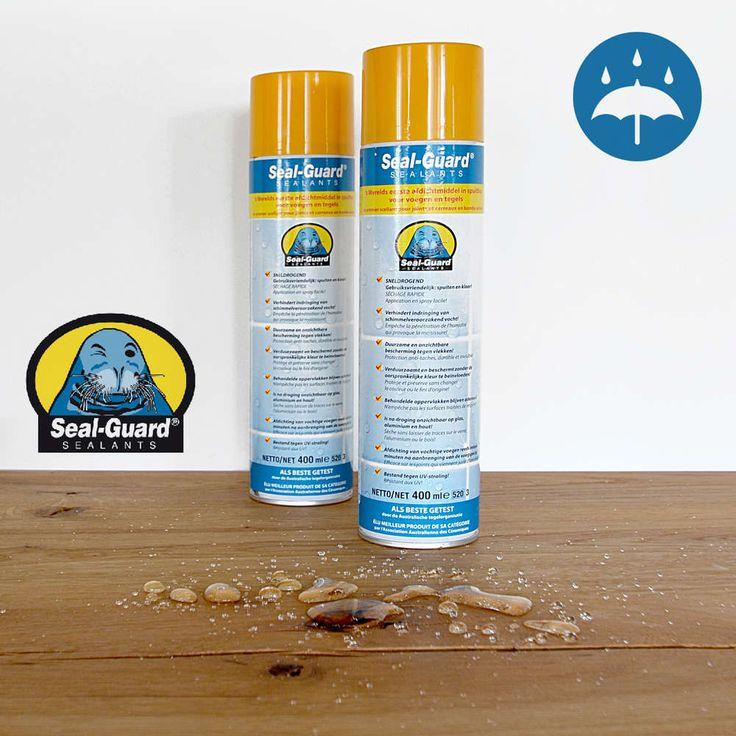Seal-Guard, Universeel afdichtingsmiddel voor sanitair, glas, steen en hout.