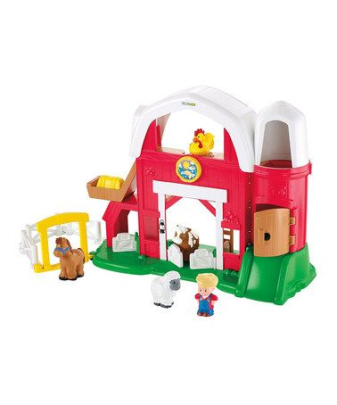 Loving this Fisher Price Little People Farm Play Set on #zulily! #zulilyfinds