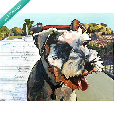 Love Letter Custom Pet Portraits | UncommonGoods