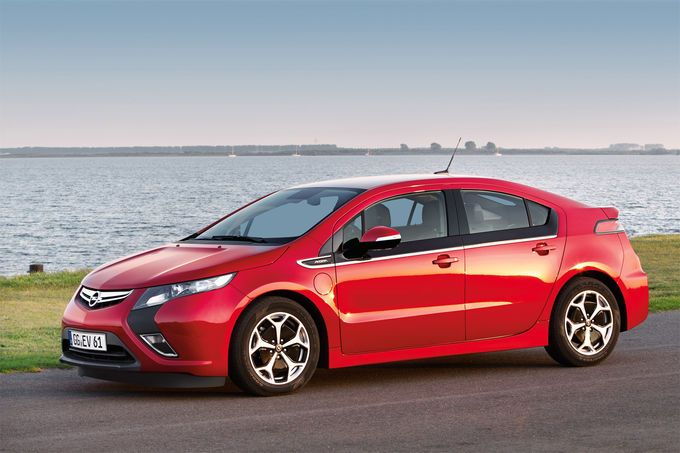 Car of the Year 2012: Opel Ampera/Chevrolet Volt.