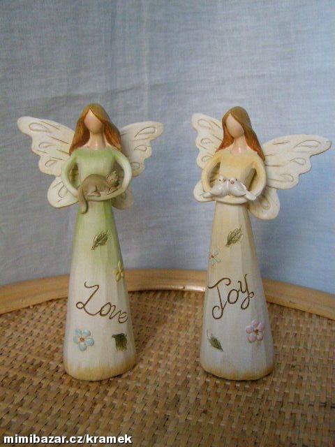 Víla andělka ptáček nebo kočka