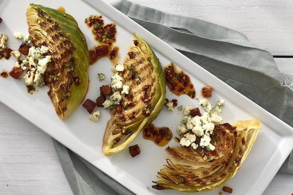 Spicy Grilled Cabbage Wedges