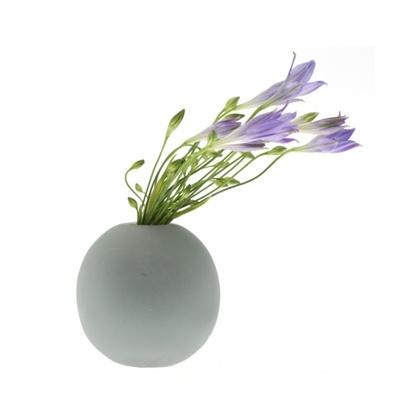 Slink Sphere Vase: Sphere Vase, Slink Vase, Decor Projects, Grey Vase, Dwell Places, Slink Grey, Slink Sphere, Flowers, Projects Master