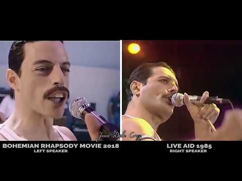 BOHEMIAN RHAPSODY 2018 [COMPLETE SONGS side by side with