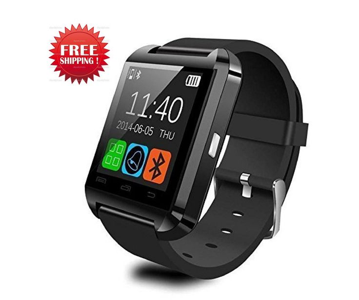 Smartwatch Touchscreen Weatherproof  iPhone Android Samsung Galaxy Note,& more #CNPGD