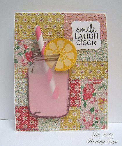 Cute jar stamp!