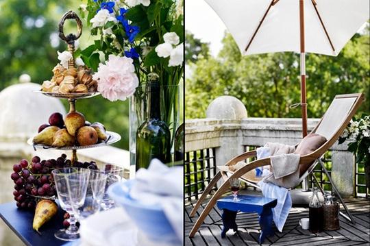 интерьеры для вдохновения,охотничий домик,синий,яркие интерьеры,аксессуары,за вдохновением,яркие акценты,декор дома