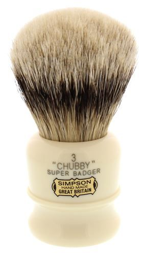 Simpson Chubby 3 Best Badger Shaving Brush (CH3B)
