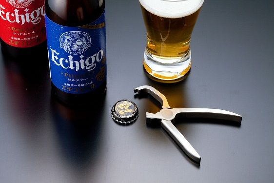 "Table tools ""Bottle open plier"" (Beer bottle opener,Japanese sake bottle opener) / MARUTO HASEGAWA KOSAKUJO INC."