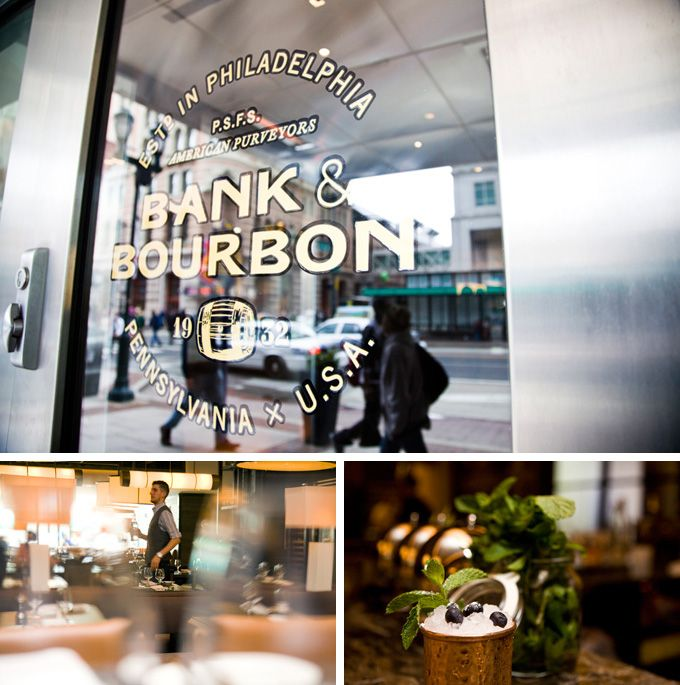 A major renovation at the Loews Philadelphia Hotel gave way to the gorgeous brand-new restaurant on its ground floor, Bank & Bourbon. (Photos by M. Edlow for Visit Philadelphia)