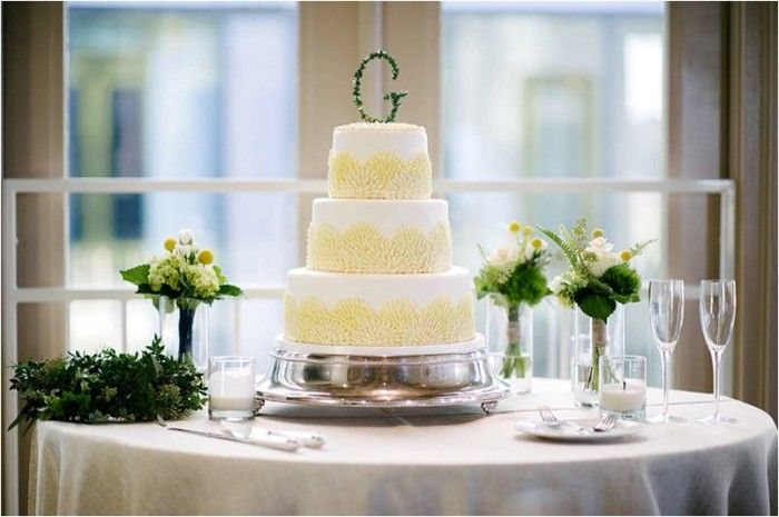 Wedding Cake | Navy Rustic Elegance Proximity Hotel Wedding | Julie Livingston Photography | Leigh Pearce Weddings, Greensboro North Carolina Wedding Planner, Stylist, Coordinator